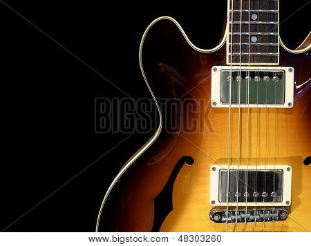 Vintage Electric Guitar poster