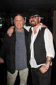 LOS ANGELES - JUL 12:  Henry Diltz, Dave Stewart at the  Dave Stewart: Jumpin' Jack Flash & The Suic