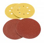 Sander Grinder Tool Sandpaper Isolated On White