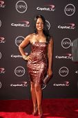 LOS ANGELES - JUL 17:  Garcelle Beauvais arrives at the 2013 ESPY Awards at the Nokia Theater on July 17, 2013 in Los Angeles, CA