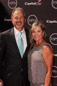 LOS ANGELES - JUL 17:  Chuck Pagano arrives at the 2013 ESPY Awards at the Nokia Theater on July 17, 2013 in Los Angeles, CA