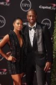 LOS ANGELES - JUL 17:  Gabrielle Union, Dwayne Wade arrives at the 2013 ESPY Awards at the Nokia The