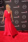 LOS ANGELES - JUL 17:  Peta Murgatroyd arrives at the 2013 ESPY Awards at the Nokia Theater on July 17, 2013 in Los Angeles, CA