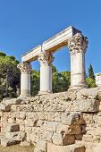 Templo de Octavia em Corinto antigo
