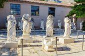 Estátua no Museu da antiga Corinto