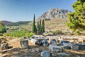 Ruínas da antiga Corinto