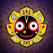 picture of lord krishna  - Jagannath - JPG