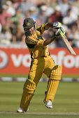 LONDON - 12 SEPT 2009; London England: Australia team captain Ricky Ponting playing in the Nat West,