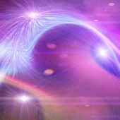 picture of intuition  - Futuristic technology wave background design with lights - JPG