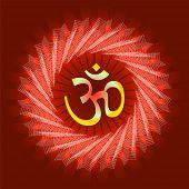 aum the holy motif