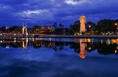 Phan Thiet Water Tower on Ca Ty River.