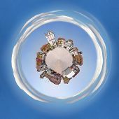 Town Square As A Planet