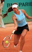 Anastasia Pivovarova At Roland Garros