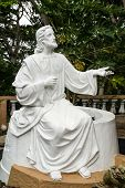 White Jesus Statue