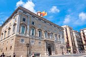 The Palau De La Generalitat