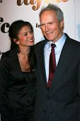 Dina Eastwood and Clint Eastwood at The 32nd Annual Los Angeles Film Critics Association Awards. The