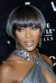 Naomi Campbell at the celebration for The Rodeo Drive Walk of Style Award given to Gianni and Donate