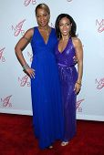 Mary J. Blige and Jada Pinkett Smith at the