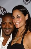 Ray J and friend at