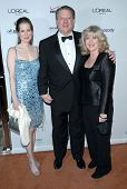 Kristin Gore with Al Gore and Tipper Gore at the 2007 Clive Davis Pre-Grammy Awards Party. Beverly H