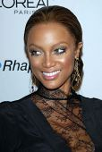 Tyra Banks at the 2007 Clive Davis Pre-Grammy Awards Party. Beverly Hilton Hotel, Beverly Hills, CA. 02-10-07