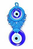 foto of memento  - Traditional Turkish amulet Evil Eye or blue eye - JPG