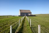 St Moluag's Church, remote Medieval Building Surrounded By Green Fields
