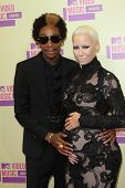 Wiz Khalifa and Amber Rose at the 2012 Video Music Awards Arrivals, Staples Center, Los Angeles, CA