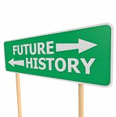 Future History Road Sign