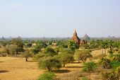 Ancient temples in Bagan, Myanmar