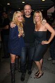 Jennifer Blanc, Michael Biehn, Lorraine Ziff at