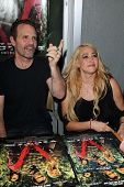Michael Biehn, Jennifer Blanc at