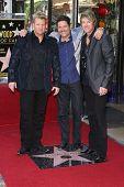 Rascal Flatts, Gary LeVox, Jay Demarcus and Joe Don Rooney at the Rascal Flatts Star on the Hollywood Walk of Fame, Hollywood, CA 09-17-12