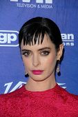 Krysten Ritter at the Variety and Women In Film Pre-Emmy Event, Scarpetta, Beverly Hills, CA 09-21-12