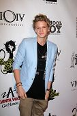 Cody Simpson at the Carly Rae Jepsen Album Release Party For Debut Record