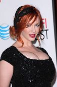 Christina Hendricks at the