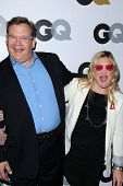 Andy Richter and Sarah Thyre  at the GQ Men Of The Year Party, Chateau Marmont, West Hollywood, CA 11-13-12