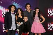 Ramy Youssef, Alanna Ubach, Jackson Brundage, Scott Baio, Ryan Newman at the 2012 TeenNick HALO Awar