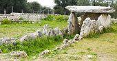 dolmen prehistoric Bisceglie - Apulia - ITALY