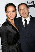 Jennifer Lawrence, David O. Russell at the