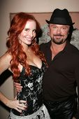 Phoebe Price and Louie Jones at the birthday party for Phoebe Price. Private Location, Los Angeles,