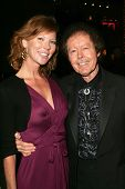 Cynthia Basinet and Kenny Lovelace at the Jerry Lee Lewis in-store appearance and performance. Virgi