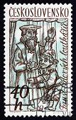 Postage Stamp Czechoslovakia 1961 Puppets