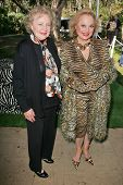 Betty White and Carol Connors at 2006 Safari Brunch Fundraiser For The Wildlife Waystation. Playboy