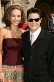 Susie Sprague and Corey Feldman at 2006 Safari Brunch Fundraiser For The Wildlife Waystation. Playboy Mansion, Los Angeles, CA. 10-14-06