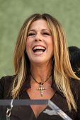 Rita Wilson at the induction ceremony for Heart into the Hollywood Walk of Fame, Hollywood, CA 09-25-12