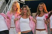 Karolina Kurkova, Gisele Bundchen and Alessandra Ambrosio at the arrival of the Victoria's Secret Models via Private Jet to Burbank's Bob Hope Airport, Burbank, CA 11-14-06 Photo by