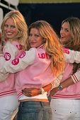 Karolina Kurkova, Gisele Bundchen and Alessandra Ambrosio at the arrival of the Victoria's Secret Models via Private Jet to Burbank's Bob Hope Airport, Burbank, CA 11-14-06