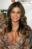 Carmen Electra at the launch party for the Carmen Electra PrePaid MasterCard and the Carmen Electra