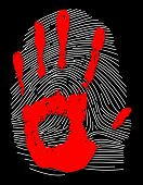 Hand and Thumb Print